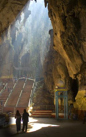 The Batu Caves
